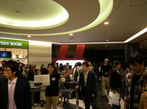 11.プラネタリウムカフェ入口(5階)