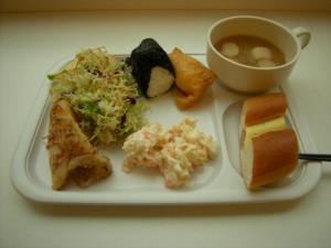 コンフォートホテルの朝食ビュッフェ(和洋ごちゃまぜ)