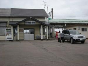 羽後飯塚駅舎