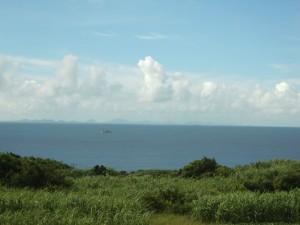 古宇利島から見た伊是名島&伊平屋島