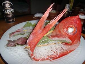 夕ご飯at椿山