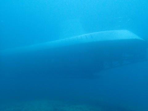 GAB GAB Ⅱにて-観光潜水艦アトランティス登場!